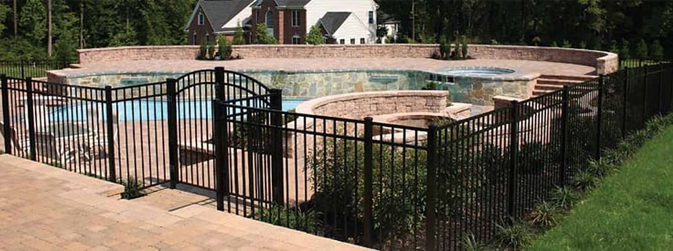 Aluminum Fence Installation Backyard Fence Inc Orlando