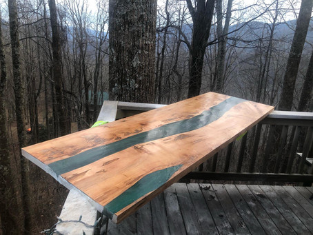 Cool River Table