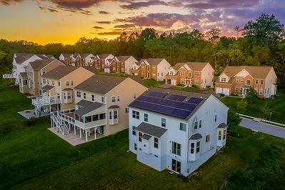 American luxury real estate single famil