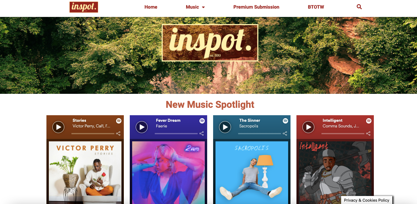 inspot. | DISCOVER NEW MUSIC EDITION 43