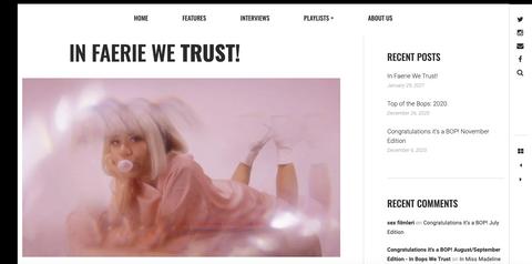 In Bops We Trust | In Faerie We Trust