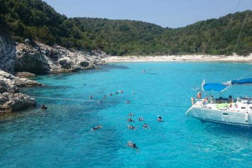 Paxos and Anti Paxos Boat Tour