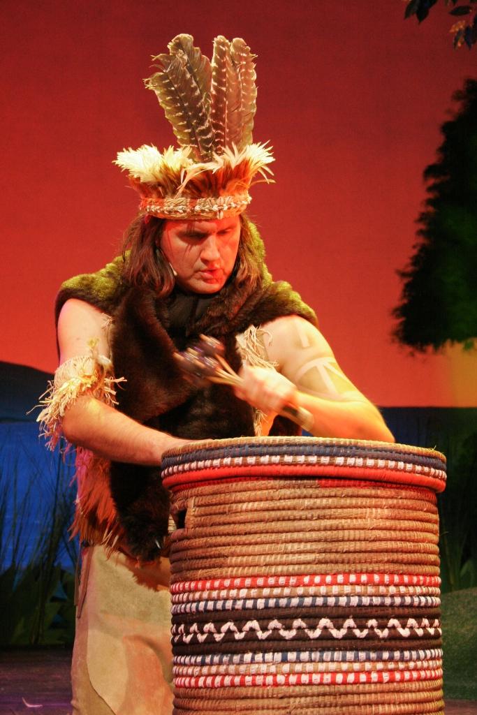 Pocahontas Theater Akzent