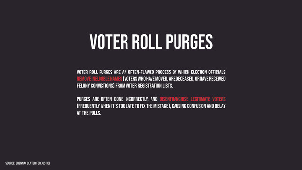 Know Your [Voting] Rights