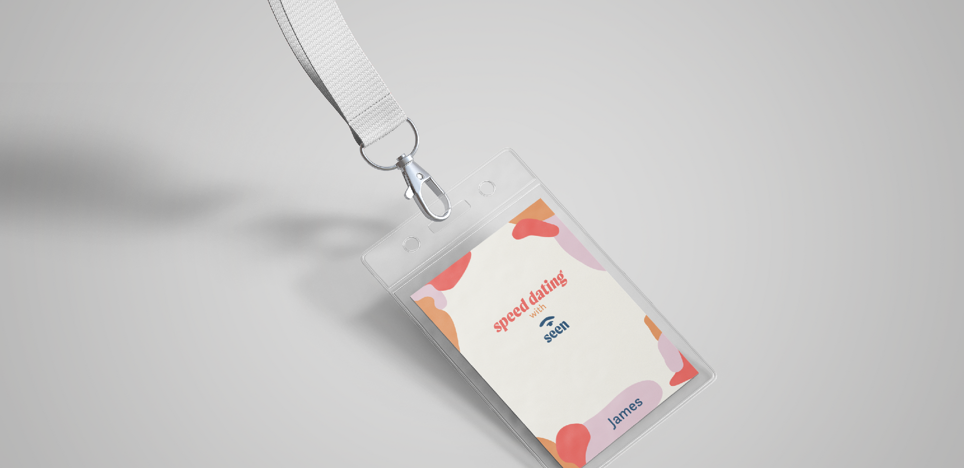Speed dating event badge