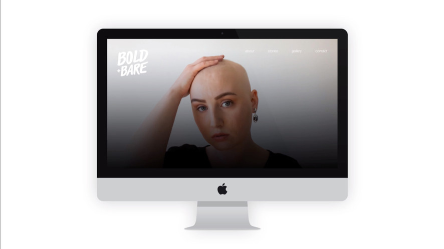 Bold + Bare Website