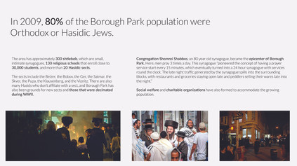 Keeping Culture Alive: Life in Borough Park