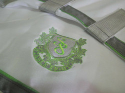 FLAG IN WHITE/GREY/LIME HORSE RUGS