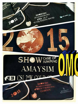 SHOWCASE OF JUMPING 2015 HORSE RUGS