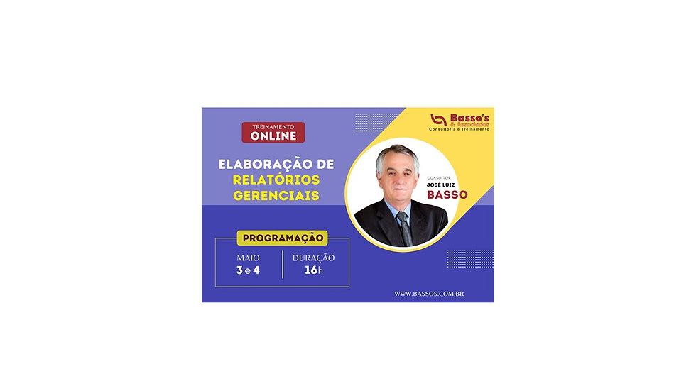 ELABORAÇÃO DE RELATÓRIOS GERENCIAIS