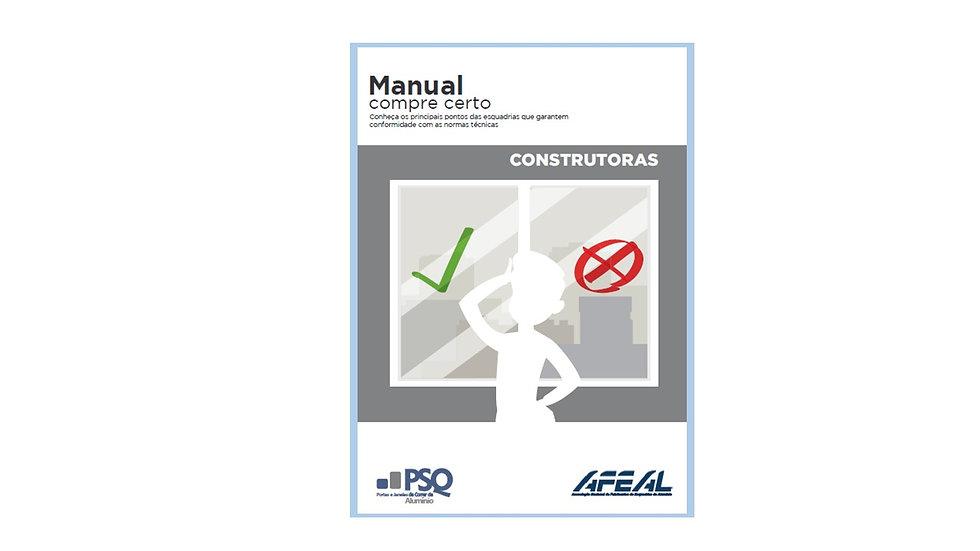 Manual Compre Certo para Construtoras (E-book)