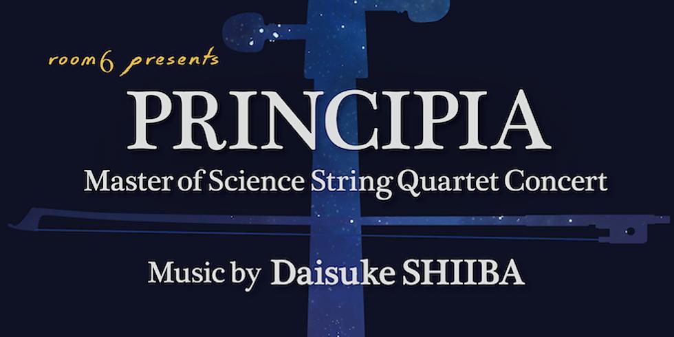 PRINCIPIA: Master of Science String Quartet Concert