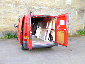 Van Parking at Artists with Transit Van HQ - Bermondsey