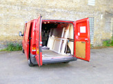 Van Parking at Artists with Transit Van HQ - Bermondsey