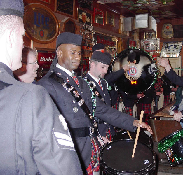 Playing in Sam's Place in 2005