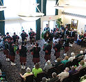 Band playing in seniors home in Butte