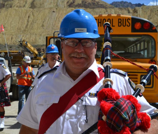 July 4 2012 PM McKee at the mine tour