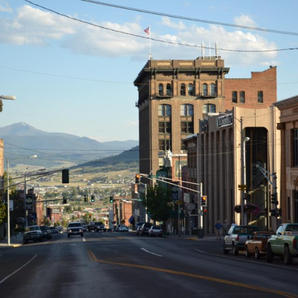 July 4 2012 street view of Butte