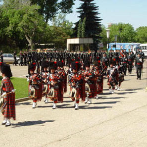 90th Anniversary of PPCLI parade in Edmonton July 2004