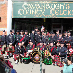 Outside Cavanaugh's Country Celtic