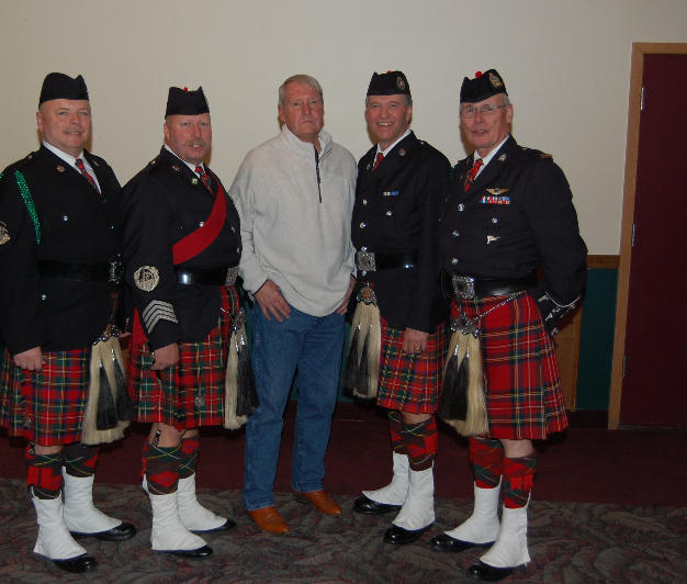 The four from 1985 with Butte resident & retired FBI Agent Gary Lincoln