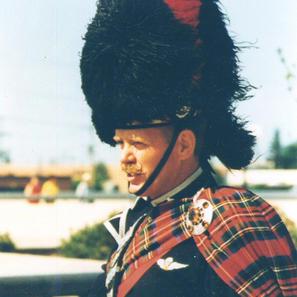 Drum Major PJ Bawn June 1975