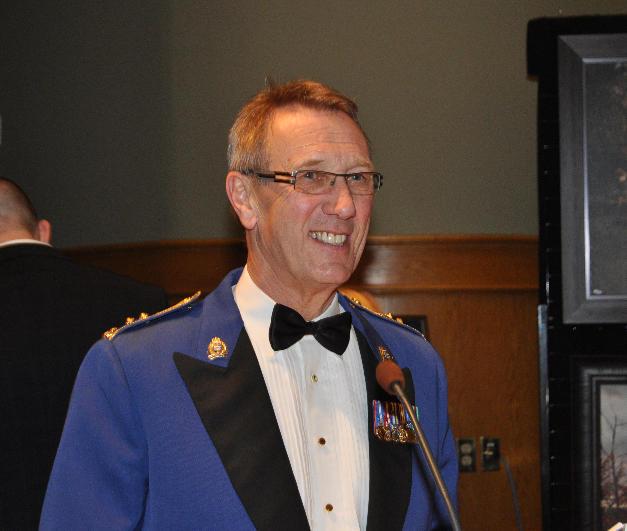 Master of Ceremonies, D/C (Ret.) Mike Bradshaw in 2013