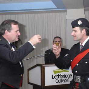 Lethbridge Regional PS Regimental Ball in 2008