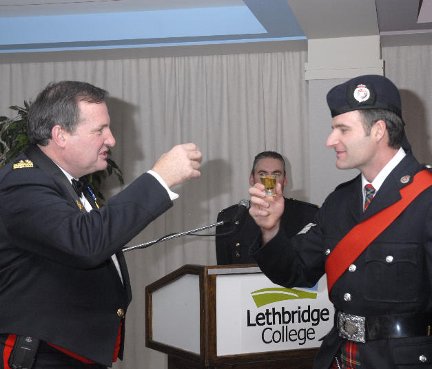 Lethbridge Regional PS Regimental Ball in 2008