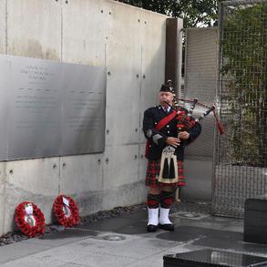 Royal Ulster Constabulary George Cross Garden