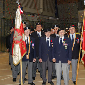 Remembrance Day 2008 at the U of A Butterdome