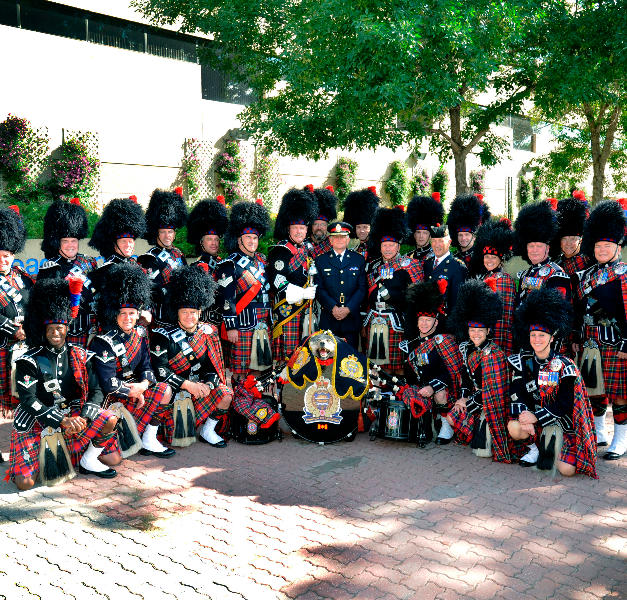 2012 Parade photo with Chief Rod Knecht