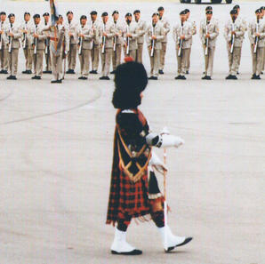 PM Bawn marching at PPCLI Anniversary in Calgary in '75