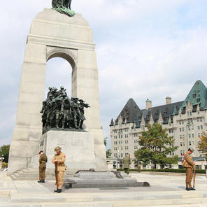 War memorial in Ottawa
