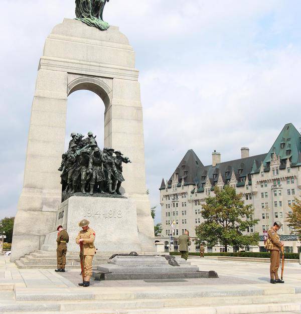 War memorial in Ottawa