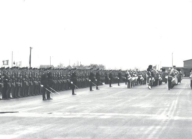 PPCLI Trooping in September 1967