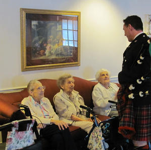 Entertaining seniors at nursing homes in 2010