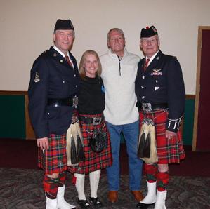 Kevin Quail, Jana Richards, Gary Lincoln & Doc Jardine