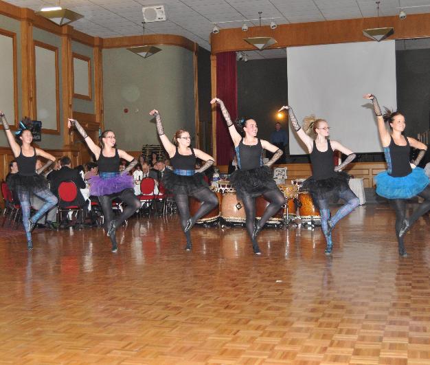Highland dancers in 2011