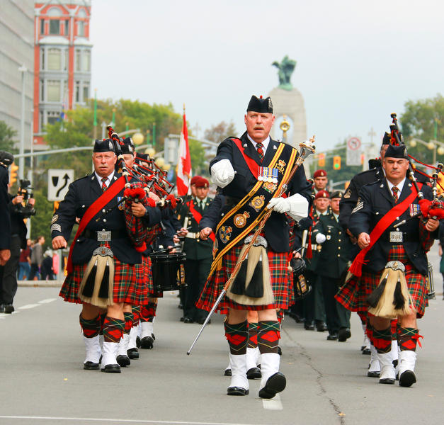 Ottawa with War Memorial in background. Photo by PPCLI photographer – Grant CREE