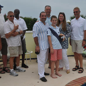 Insp. Rocchio, D/C (Ret) Bradshaw and the Cook Family