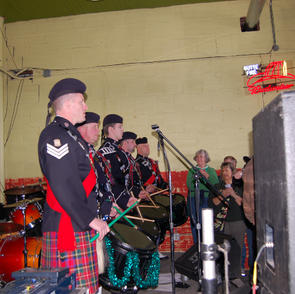 Playing at The Depot on St. Patrick's Day