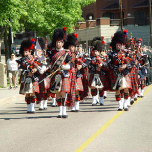 90th Anniversary of PPCLI parade in Edmonton July 200