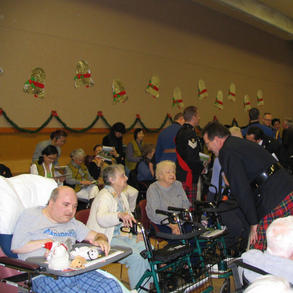 Edmonton Police Association Christmas Parties for shut in's in 2007