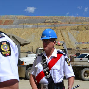 July 4 2012 during the mine tour