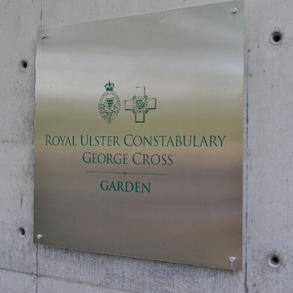 The Garden includes a History Trail in addition to the Area of Peace.