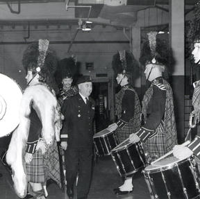 Airborne parade 1974
