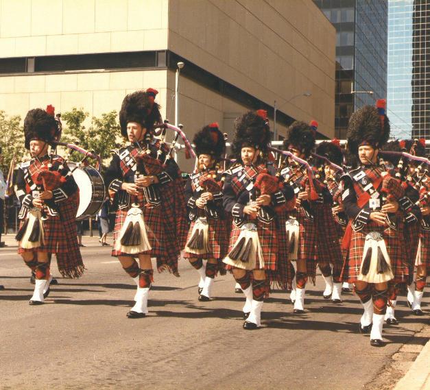 Korean Veterans Parade in 1987