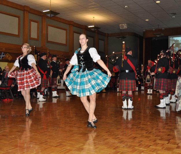 Highland dancers in 2013