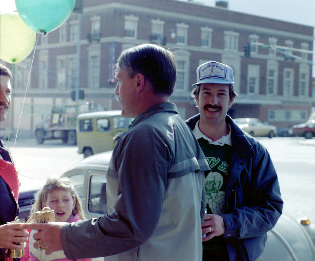 1984 Gary Lincoln and his neighbor, Mike Patterson